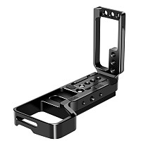 FEICHAO Quick Release L Plate Extendable Bracket Tripod Plate Hand Grip For A7M3 A7R3 A9 Arca-Swiss Standard Mounting Plate