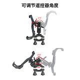 Sunnylife Remote Controller Bike Clip Bicycle Bracket Holder Smart Phone Monitor Clamp Fix Mount Stent Connector for Mavic Air 2