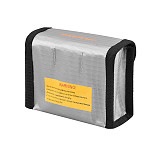 FEICHAO Lipo Battery Fireproof Explosion-proof Safety Lipo Fire Resistant Battery Bag for Mavic Mini RC Lipo Battery Storage Bag