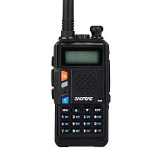 Baofeng New Intercom walkie-talkie Two way UV-T2 7.4V B3-PLUS USB Charge 136-174/400-520MHz 3/5km