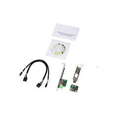 XT-XINTE Mini PCI-Express Gigabit Ethernet 1XRJ45 Port Adapter 10/100/1000 Base-T Network LAN Controller