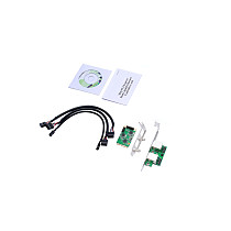 XT-XINTE Mini PCI-Express Dual Gigabit Ethernet Controller Card RTL8111 Chips 2 port rj45 Lan 10/100/1000 mbps Nic Network Card