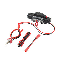 FEICHAO Double Motor Winch with Winch Switch with Third Channel Line CA7916 for 1/10 Climbing Car