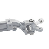 FEICHAO Metal Front Axle Tractor Steering CA7911 Silver for 1:14 Tamiya Upgrade