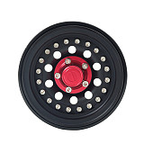 FEICHAO 4pcs Metal Wheels 56*27mm Remote Control Car Toy Car Accessories for 1.9 Inch Simulation Climbing Car