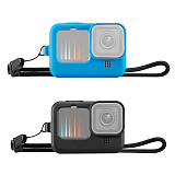 BGNing Soft Silicone Protective Case for Gopro Hero 9 Black Camera Protector Full Cover Shell for Hero9 with Sleeve and Lens Cap