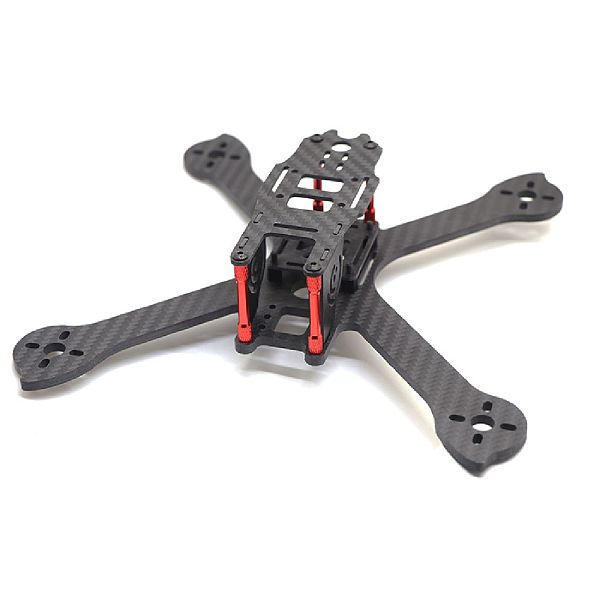 FEICHAO IX5 210 Frame 210mm Wheelbase FPV Crossing 4Axis Carbon Fiber Racing Frame Kit for RC Drone FPV Racing