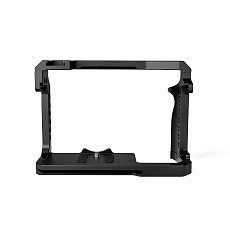 BGNing Aluminum DSLR Camera Cage for Canon EOS R5 w/ Cold Shoe & 1/4'' inch Arri Hole SLR Rig Video Protective Frame for EOS R6
