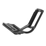 BGNing Aluminum Quick Release Board QR Plate SLR Integrated Handle for Nikon D6 Camera Bracket Tripod Mount Vertical Support