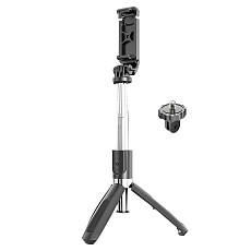 BGNing Universal 4 In1 Bluetooth Wireless Selfie Stick Tripod Foldable Monopod for Smartphones for Gopro Action SLR Cameras