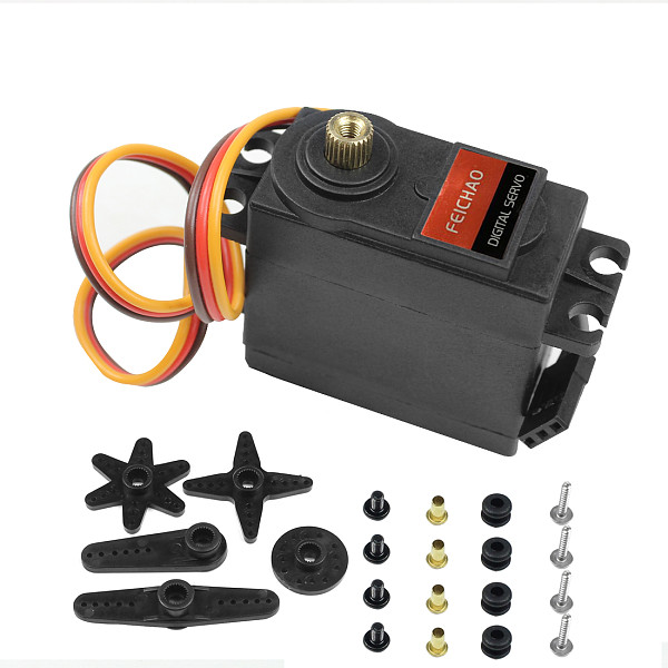 FEICHAO MG995 9KG Digital Metal Gear High-Speed Upgrade Servo For Car Model/Multi-Rotor Aircraft/Helicopter/Robot/RC Toy