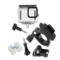 BGNing Waterproof Housing Case for GoPro Hero 9 Diving Protective Underwater Dive Cover for Go Pro 9 Action Camera Accessories