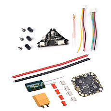FEICHAO GHF411AIO Pro F4 OSD Flight Controller Built-in 25A/35A BLheli_S 2-6S 4in1 ESC with 40CH VTX for RC FPV Racing Drone