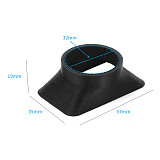 BGNing 3D Printed Camera Lens Sun Hood Cover SunShade for Osmo Action for GoPro Hero 5 6 7 black Action Camera Accessories