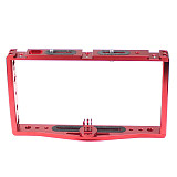 FEICHAO Diving CNC Dual Handle Selfie Tray Steady Holder Mount Cage Light Rig Kit with Adaper for DSLR Action Cameras