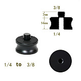 BGNING Camera Tripod Adapter Female 1/4 to Male 3/8 Adapter Aluminum Alloy Adapter Conversion Screw
