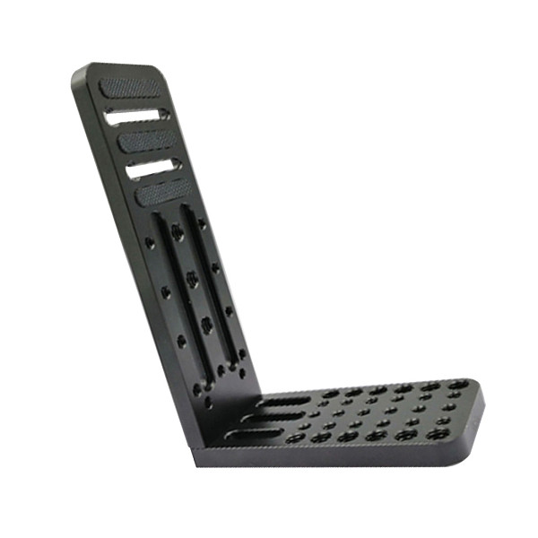 BGNing BL-130C Universal Vertical Video Shoot Quick Release L Plate Bracket Grip Base Holder with 3/8  1/4  Screw for SLR Camera