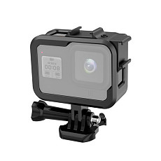 BGNing Aluminum Alloy Camera Cage for Gopro 8 Protector for Hero 8 Sports Camera Cage with Hotshoe Fill Light Frame Cover Accessories