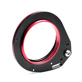 FEICHAO Aluminum Alloy Diving Lens Carrier Close-up Lens Mount M67 Lens Adapter M67 Camera Waterproof Case Lens Adapter Suitable for Wide-angle Lenses with M67 Threads/Extender Lens/Macro Lens