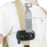 RCSTQ Action Camera Quick Release Adjustable Backpack Strap Clip Mount For DJI Osmo Pocket 1 2 Accessories