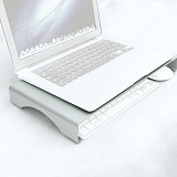 XT-XINTE Universal Aluminum Storage Bracket Base Heighten Bracket Stand Holder for Desktop Monitors Notebook Computers