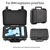BGNing Explosion-Proof Box for Osmo Mobile 3 4 Storage Bag Waterproof Hard Cover Shell Handbag Travel Case OM4 Stabilizer Accessories