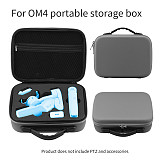 BGNing Portable Carrying Case for DJI Osmo Mobile 3 Storage Bag Handbag Hard Shell for OM 4 Handheld Gimbal Protective Box Accessories