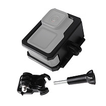 FEICHAO Action Camera Housing Protection Case Cover Frame With Expansion Port For GoPro Hero 9 Camera Accessories