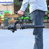 UURig Multifunction Aluminium Alloy Stabilizer Sling Dual Handle Grip for DJI Ronin S/SC Stabilizer
