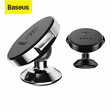 Baseus New Portable Universal Dashboard Mount Magnetic Car Phone Holder 360° Rotating Stand