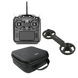 RadioKing TX18S/Lite Hall Sensor Gimbals 2.4G 16CH Multi-protocol RF System OpenTX Transmitter with Handbag + Rocker + Battery for DIY RC Racing Drone (in stock)