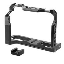 FEICHAO BTL-FT4 XT4 Rabbit Cage Camera Protection Frame Tripod Expansion Platform Compatible for Fuji XT4 Camera