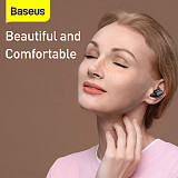 Baseus 1 Pair New Portable TWS Wireless Earbuds Bluetooth 5.0 Headset Mini Stereo Earphones with Mic