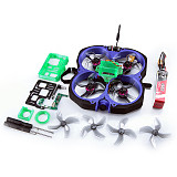 GEELANG LIGO78X 4S KV5000 Motor 4in1 ESC MCU 3in1 SI-F4FC V1 Cinewhoop FPV Racing Drone with Gopro6/7 Bare Metal Cover and Camera Mount