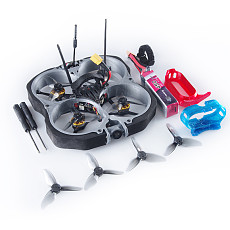 GEELANG LIGO78X 5A Blheli_S 4 in 1 ESC Dshot600 Betaflight OSD Cinewhoop FPV Racing Drone With 360go Thumb Camera Mounts