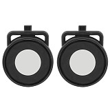 FEICHAO Camera Lens Guards Protector Cover Cap one R 360 Dual-Lens Mod For Insta 360 R 360 Edition Action Camera Accessory