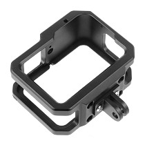 BGNing Aluminum Case for GoPro Hero 9 Black Camera Metal Cage Protective Shell Housing Frame Form-Fitted w/ Cold Shoe 52mm Filter Mount