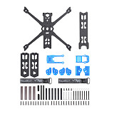 iFlight Chimera4 (X-Geometry) 178mm Aiframe Carbon Fiber FPV Drone Frame Kit Replacemengt Arframe for Chimera4 (Positive-X Version)