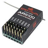 SPEKTRUM 6 Channel 6CH AR6100e DSM2 2.4GHz RC Receiver Acceptor Support SPEKTRUM DX6i/DX7 DSM-X JR DSX7 DSX6 DSX9 Transmitter