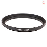 BGNing Universal DSLR 52mm 55mm 58mm 62mm 67mm 72mm 77mm Lens Step Up Down Ring Filter Mount Adapter Camera Photo Accessories