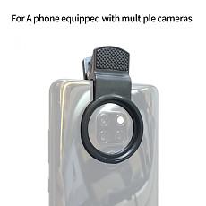 FEICHAO 37mm Mobile Phone Camera Lens Clip Professional Lens Clip Wide Angle Macro Phone Lens Universal Clip
