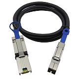 XT-XINTE SAS SATA Cable SFF 8088 External Mini SAS to Mini SAS High Density HD SFF 8644 Data Cable for Server 1M 2M