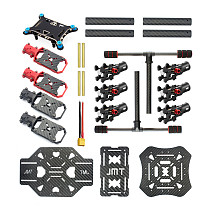 DIY GPS Drone X4 460mm Umbrella Foldable RC Quadcopter 4-Axis Unassemble KIT APM2.8 FPV Aircraft with Gimbal NO Remote Control No Battery
