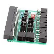 XT-XINTE 12V GPU / PSU Branch Board Adapter for DPS-1200FB A DPS-1200QB A PS-2751-5Q 10 x 6pin Conversion Board