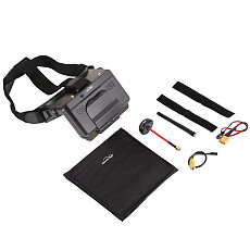 Hawkeye NEW Head Wear 5.8GHZ FPV Screen AR Glasses Receives Double Receiver Refraction 5 Inches Monitor For RC DIY FPV Racing Drone