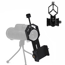 BGNing Universal Smartphone Adapter Mount Monocular Mobile Phone Holder Bracket Clip for Telescope Support Photo Accessories