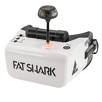 FatShark Scout 4 Inch 1136x640 NTSC/PAL Auto Selecting Display FPV Goggles Video Headset Bulit-in Battery DVR for DIY RC FPV Racing Drone