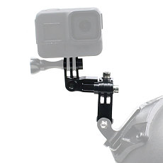 FEICHAO Aluminum Alloy Multi-directional Metal Adjusting Arm Sports Camera Accessories Compatible for Gopro7/8/GoPro max/GitUp/AEE/SONY/AKASO EK7000 4K/insta360 ONE R