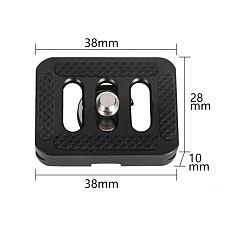 BGNing Mini Camera Durable Universal Professional Non Slip Aluminum Quick Release Plate Tripod Clamp Accessories For Sirui TYC10