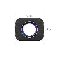 FEICHAO 3in1 Mini Wide Angle/Macro/Fisheye/Wide-angle Pro/1.33X Anamorphic Lens Glass Camera for DJI Osmo Pocket Vlog Shooting Handheld Gimbal Parts